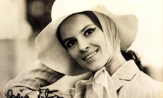 Beautiful Romanian actress Irina Petrescu (19 June 1941 – 19 March 2013)