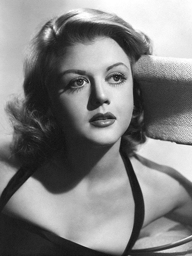Beautiful actress Angela Lansbury