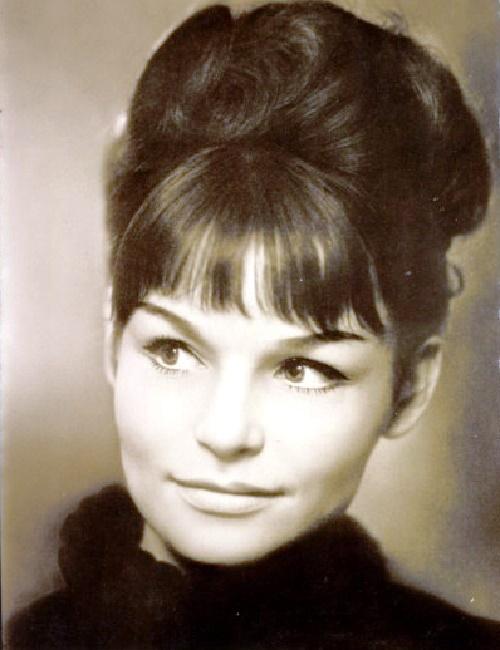Beautiful actress Angelica Domrose