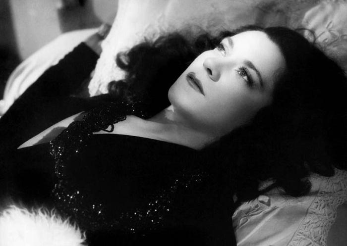 Beautiful actress Maria Casares