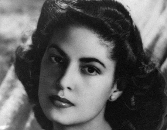 Beautiful and talented, Creator of Legendary Besame mucho Consuelo Velazquez (August 21, 1916 – January 22, 2005)