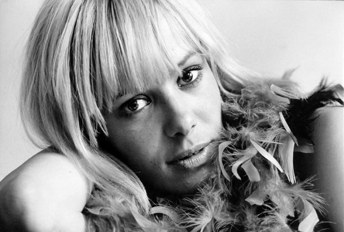 Beautiful blonde Anita Pallenberg