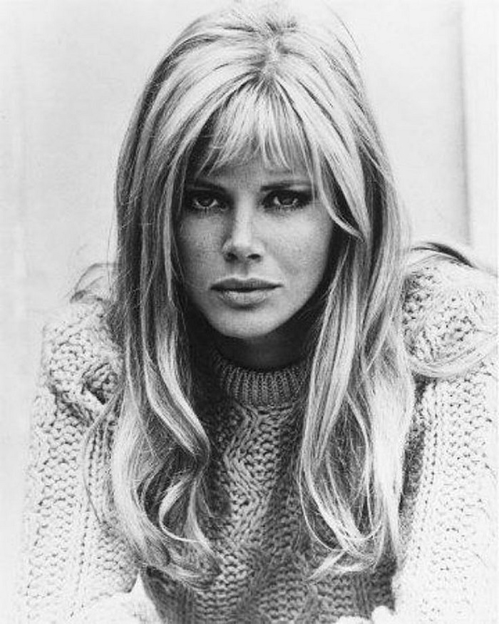 Blonde beauty Britt Ekland