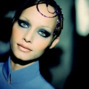 Blue-eyed Amber Valletta