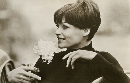 Born 4 April 1941 in Berlin, one of the most beautiful in 1960s German cinema – actress Angelica Domrose