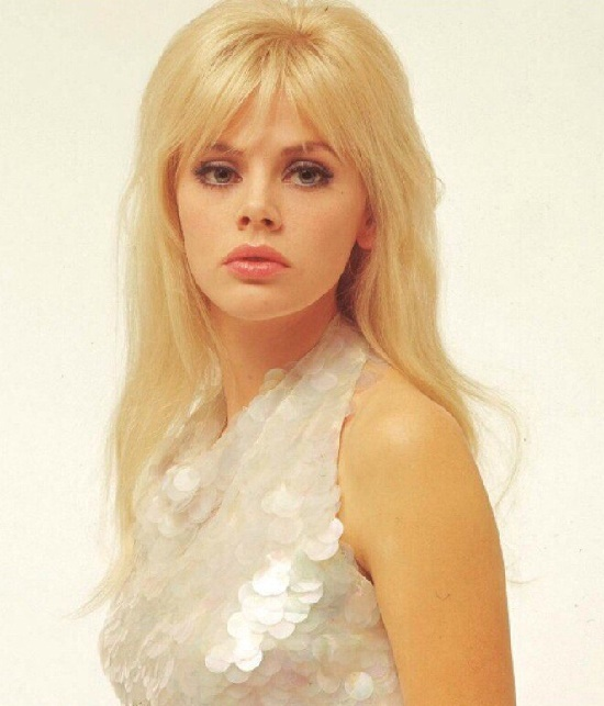 Born 6 October, 1942, 1960s beauty icon Swedish actress Britt Ekland