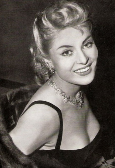 Born in Devon, English actress Belinda Lee