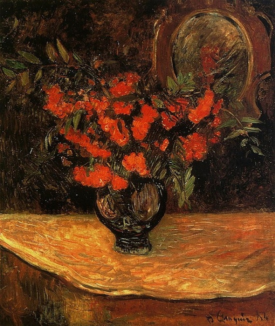 Bouquet of mountain ash. Paul Gauguin