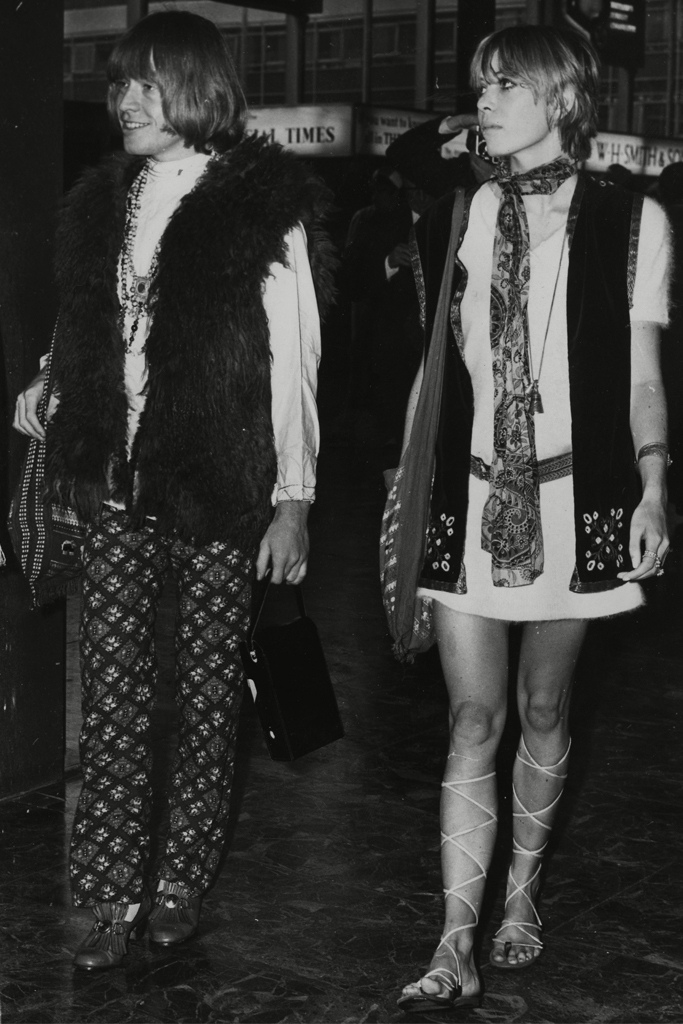 Brian Jones and Anita Pallenberg in 1967