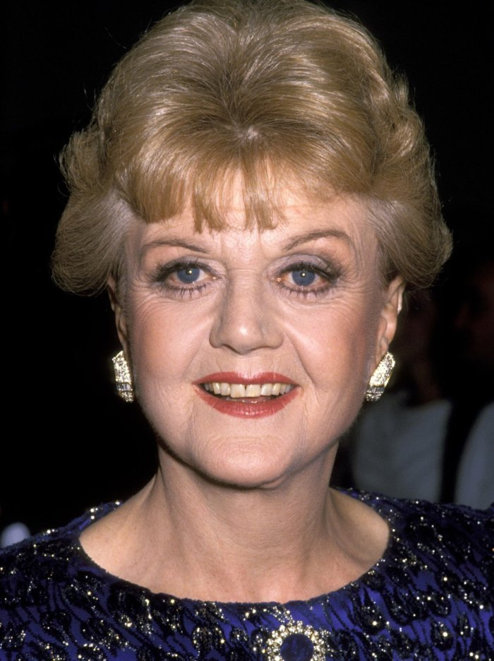 British-American singer and actress Angela Lansbury