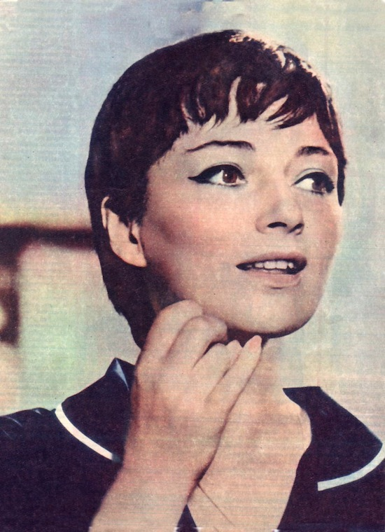 Bulgarian actress Nevena Kokanova (12 December 1938 – 03 June 2000)