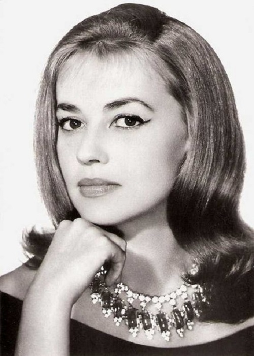 Called the Ideal of intellectual femininity actress Jeanne Moreau (23 January 1928 – 31 July 2017)