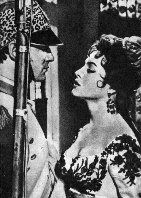Carmen la de Ronda, 1959. beautiful actress Sara Montiel