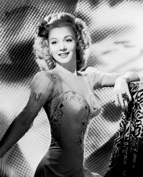 Carole Landis in the 1940s