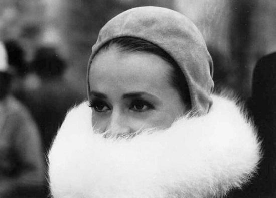 Cinema actress Jeanne Moreau