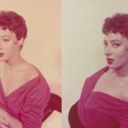 Colored photo actress Valentina Cortese