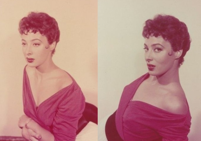 Colored photo actress Valentina Cortese