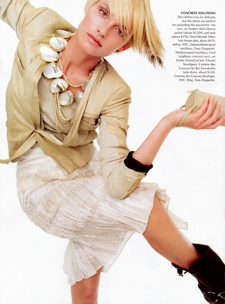 Concrete solutions, Amber Valletta