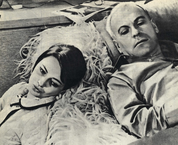 Criminal drama 'The smell of almonds', 1967