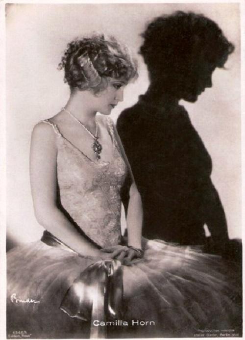 Dancer and actress Camilla Horn