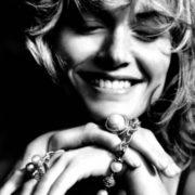 David Yurman jewelry, model Amber Valletta