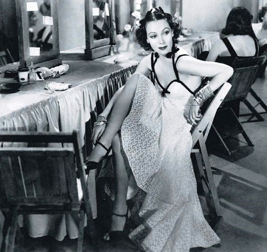 Disney's mistress, the Mexican actress Dolores del Rio