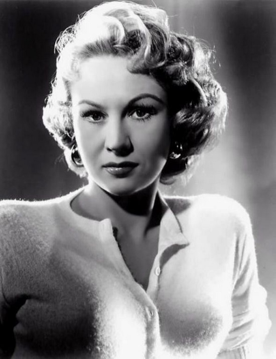 Divinely beautiful actress Virginia Mayo