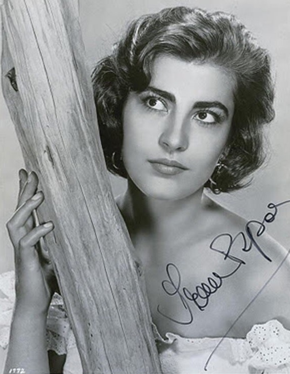 Early 1950s, Greek actress Irene Papas