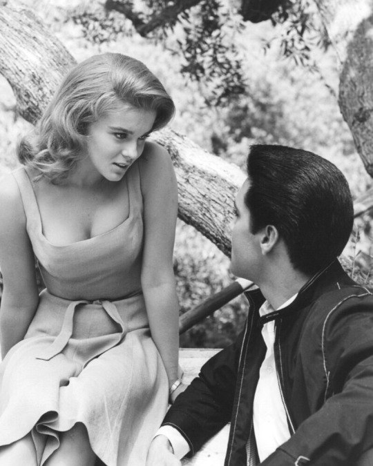 Elvis and Ann Margaret Olsson in Viva Las Vegas, 1964
