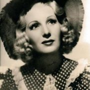 English actress Binnie Barnes