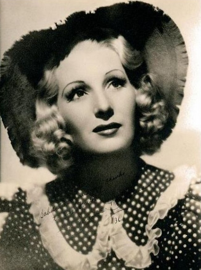 English actress Binnie Barnes