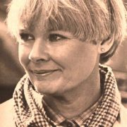 Beautiful English actress Dame Judith Olivia Dench