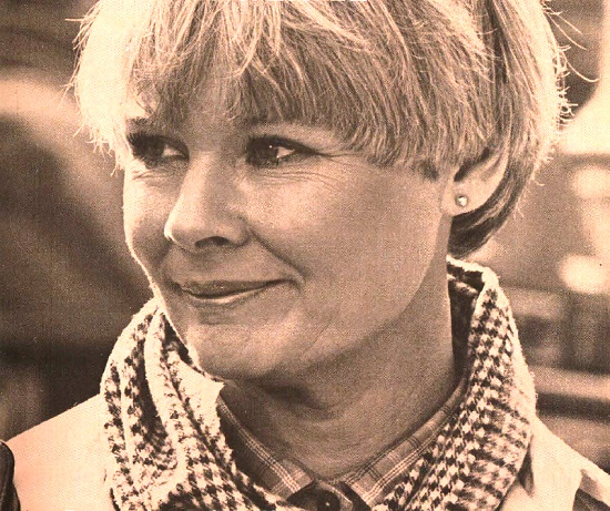 Famous English actress Dame Judith Olivia Dench
