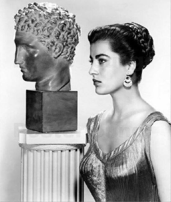 Famous Greek actress Irene Papas