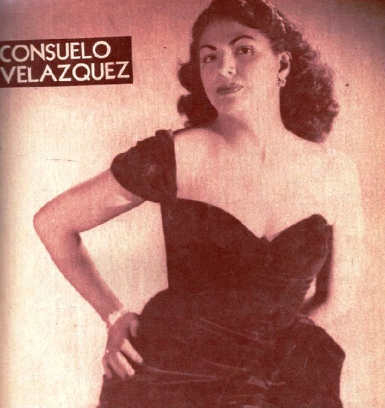 Famous Mexican pianist and composer, Creator of Legendary Besame mucho Consuelo Velazquez