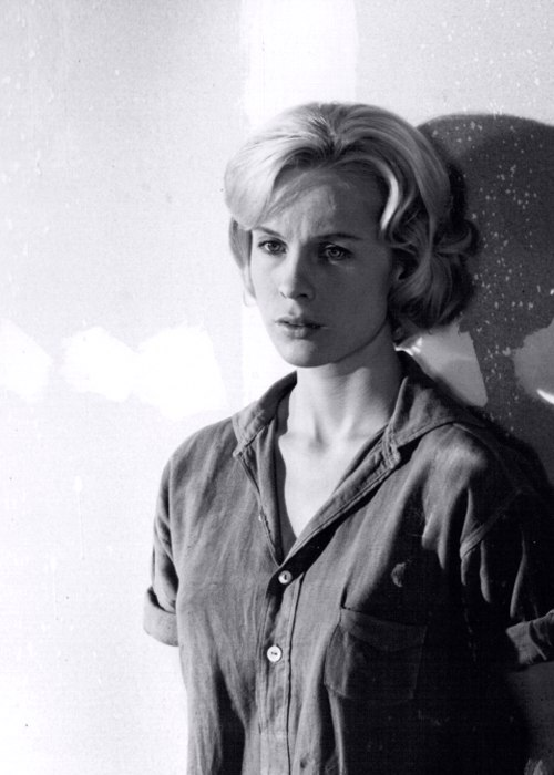 Famous Swedish actress Bibi Andersson