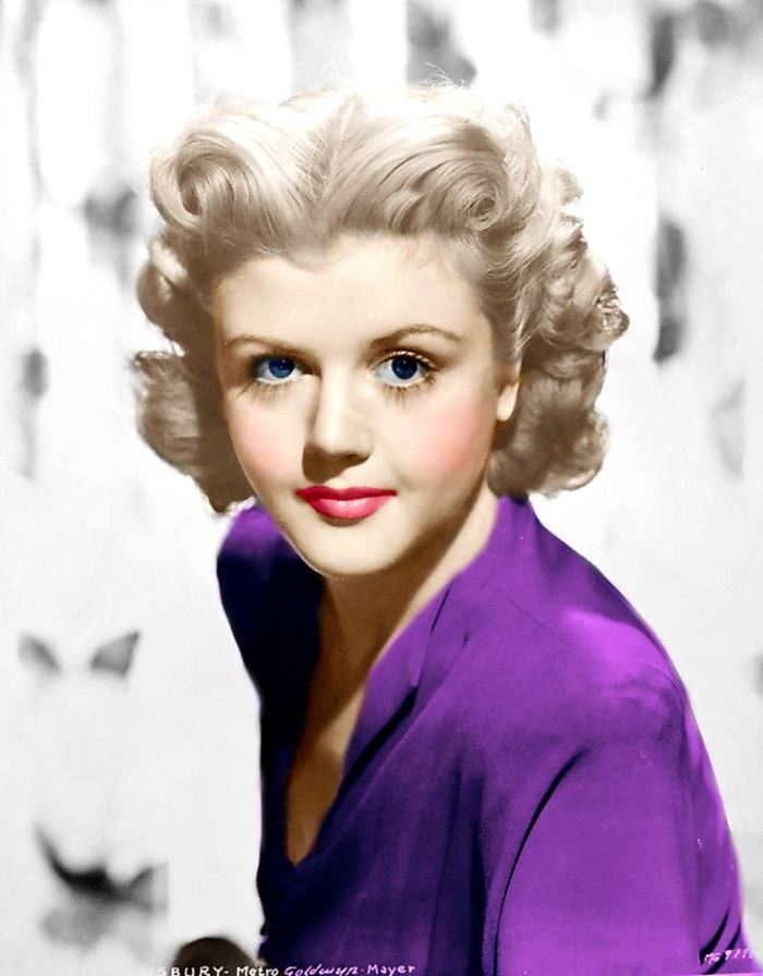 Famous actress Angela Lansbury