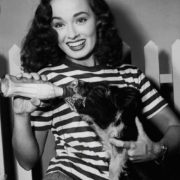 1940s Hollywood star beautiful actress Ann Blyth