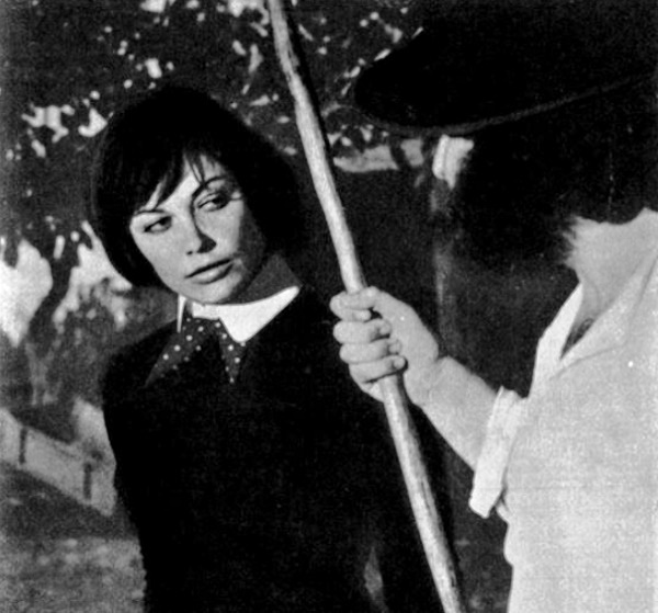 Film 'Riot', 1975, actress Tzvetana Maneva