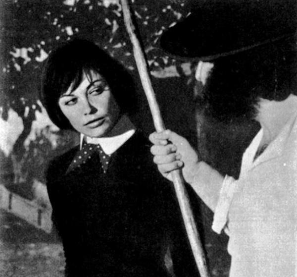 Film 'Riot', 1975, actress Tzvetana Maneva