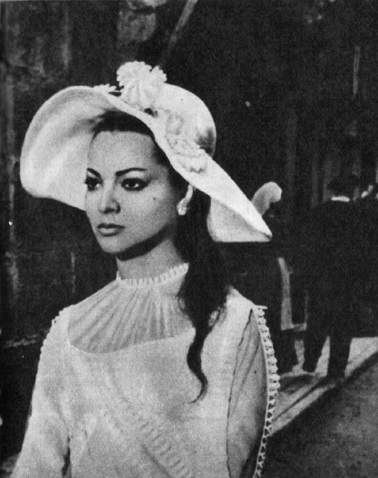 Film 'La reina del Chantecler'. 1962