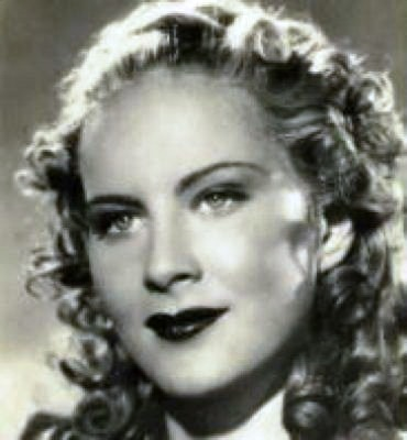 Film actress Alida Valli