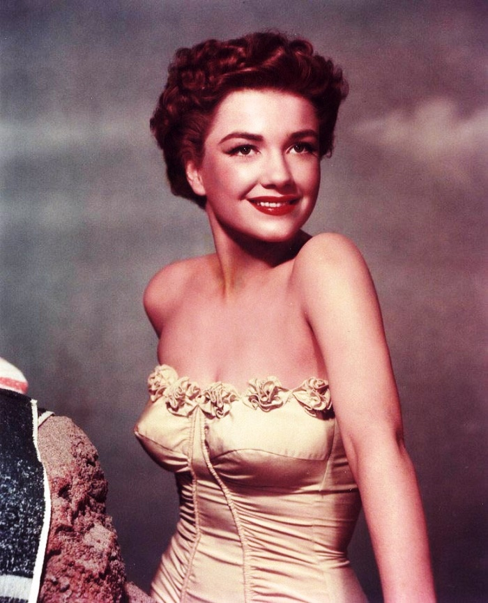 Film actress Anne Baxter