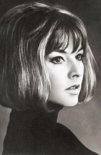 Film actress Annekathrin Burger