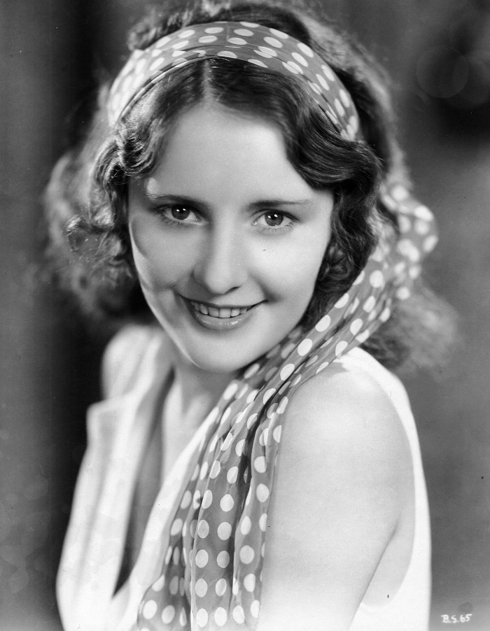 Film actress Barbara Stanwyck
