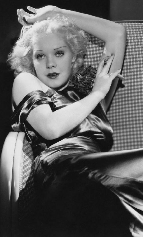Film star Alice Faye