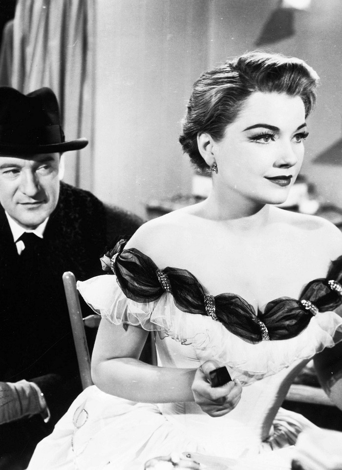 George Sanders and Anne Baxter in All About Eve, 1950