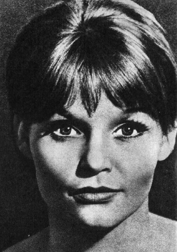 German actress Angelica Domrose