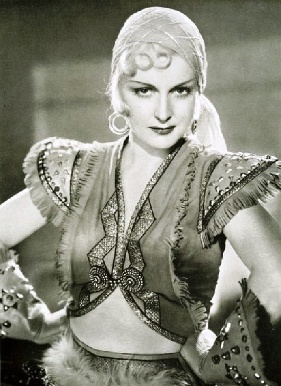 German dancer and actress Camilla Martha Horn (25 April 1903 – 14 August 1996)