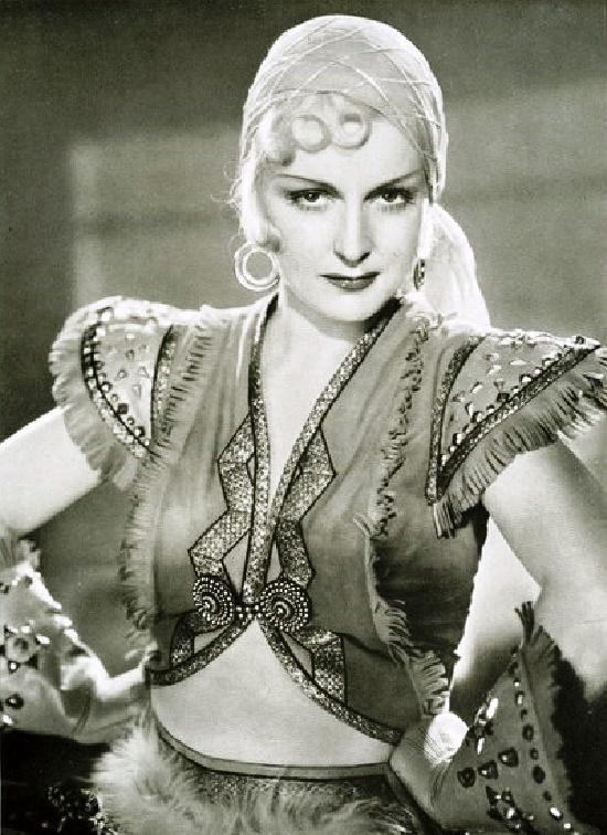 German dancer and actress Camilla Martha Horn (25 April 1903 – 14 August 1996)